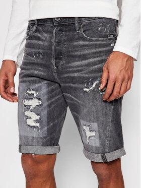 G-Star Raw G-Star Raw Szorty jeansowe Scutar 3D D19195-C293-C287 Szary Taperd Fit