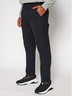 Converse Converse Kalhoty z materiálu Easy Waist Carpenter 10020002-A01 Černá Regular Fit