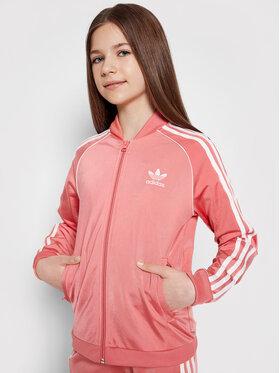 adidas adidas Mikina Adicolor Sst GN8450 Růžová Regular Fit