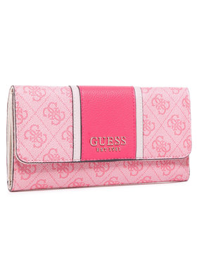 Guess Guess Portefeuille femme grand format Cathleen (SG) SWSG77 37650 Rose