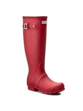 Hunter Hunter Guminiai batai Original Tall W23499 Raudona