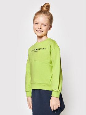 Tommy Hilfiger Tommy Hilfiger Sweatshirt Essential KG0KG05764 M Vert Regular Fit
