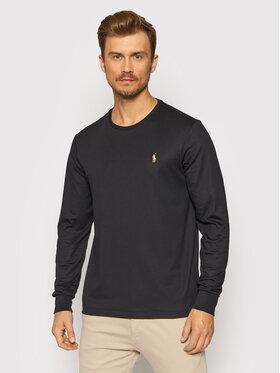Polo Ralph Lauren Polo Ralph Lauren Тениска с дълъг ръкав 710760121 Черен Slim Fit