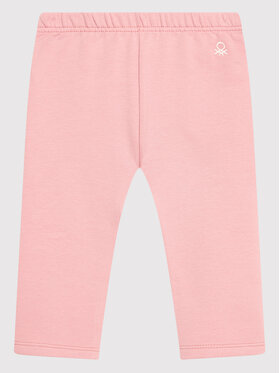 United Colors Of Benetton United Colors Of Benetton Legginsy 35Q2I0508 Różowy Slim Fit