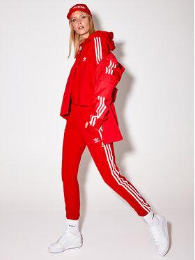 adidas adidas Bluza Adicolor Classics GN2892 Czerwony Loose Fit
