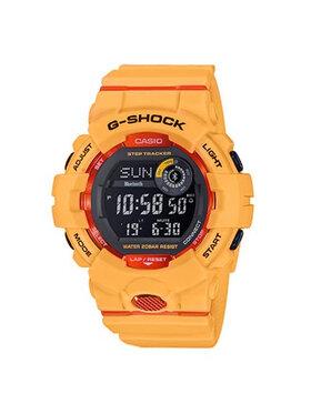 G-Shock G-Shock Zegarek GBD-800-4ER Pomarańczowy