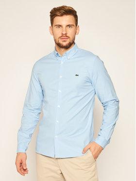 Lacoste Lacoste Camicia CH2671 Blu Slim Fit