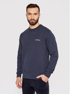 Calvin Klein Calvin Klein Majica dugih rukava Small Chest Logo K10K107031 Tamnoplava Regular Fit