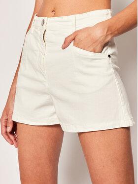 Patrizia Pepe Patrizia Pepe Pantaloncini di jeans 2J2310/A6W8-W146 Bianco Regular Fit