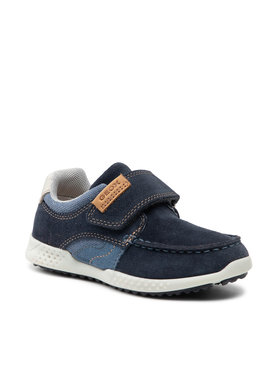 Geox Geox Sneakersy J Snake 2 B J02ABA 02210 C0700 M Granatowy