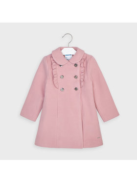 Mayoral Mayoral Cappotto 4409 Rosa Regular Fit