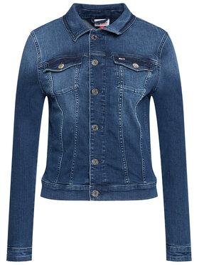 Tommy Jeans Tommy Jeans Jeansová bunda Vivianne DW0DW09219 Modrá Slim Fit