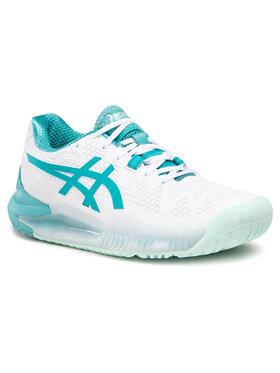 Asics Asics Pantofi Gel-Resolution 8 1042A072 Alb