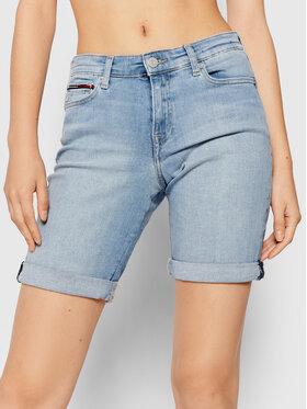 Tommy Jeans Tommy Jeans Džínové šortky Bermuda DW0DW10531 Modrá Regular Fit