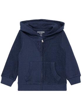 Guess Guess Bluză N1RQ07 KA6R0 Bleumarin Regular Fit