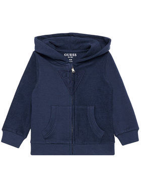 Guess Guess Sweatshirt N1RQ07 KA6R0 Bleu marine Regular Fit