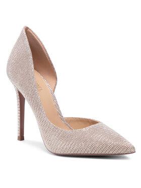 MICHAEL Michael Kors MICHAEL Michael Kors Pantofi cu toc subțire Keke Dorsay 40S1KEHP1D Auriu