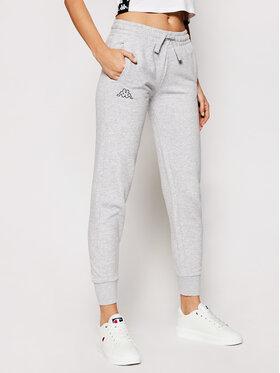 Kappa Kappa Spodnie dresowe Taima 705202 Szary Regular Fit