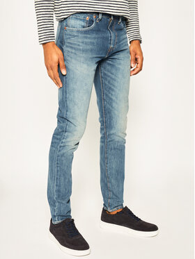 Levi's® Levi's® Jeansy Slim Fit 512™ 28833-0565 Tmavomodrá Slim Taper Fit