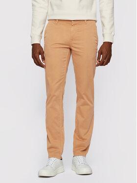 Boss Boss Spodnie materiałowe Schino 50379152 Brązowy Slim Fit