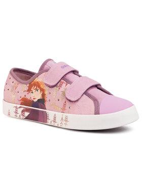 Geox Geox Sneakers aus Stoff J Ciak G. H J0204H 00010 C8005 D Rosa