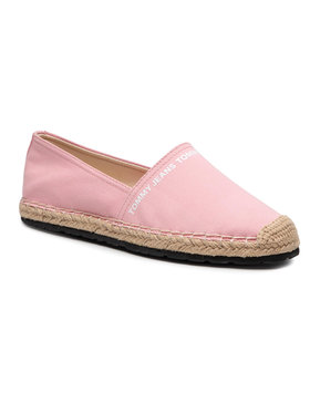Tommy Jeans Tommy Jeans Espadrilles Essential Tommy Jeans Espadrille EN0EN01271 Rózsaszín