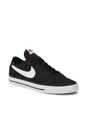 Nike Nike Boty Court Legacy Cnvs CW6539 002 Černá