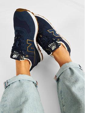New Balance New Balance Sneakersy WL574SOC Tmavomodrá