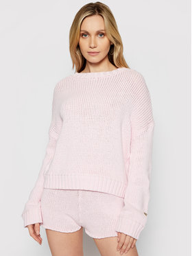 Guess Guess Pulover E1GR00 ZZ04I Roz Relaxed Fit