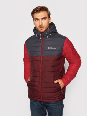 Columbia Columbia Daunenjacke Powder Lite 1693931 Dunkelrot Regular Fit