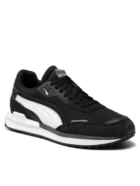 Puma Puma Sneakersy City Rider B&W 382046 01 Čierna