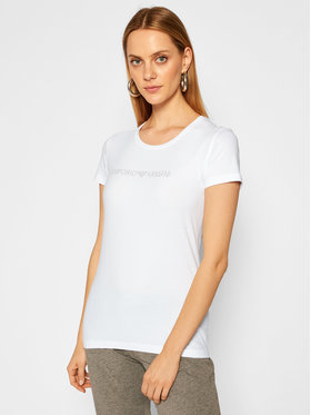 Emporio Armani Underwear Emporio Armani Underwear Tricou 163139 0A263 00010 Alb Slim Fit