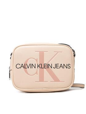 Calvin Klein Jeans Calvin Klein Jeans Дамска чанта Sculpted Camera Bag Mono K60K608373 Бежов