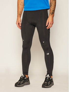 New Balance New Balance Legginsy MP01247 Czarny Slim Fit