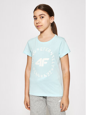4F 4F Тишърт HJL21-JTSD005B Син Regular Fit