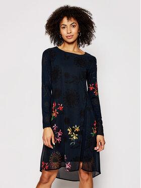 Desigual Desigual Ежедневна рокля Gabrielle 21SWVWAT Черен Regular Fit