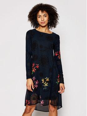 Desigual Desigual Každodenné šaty Gabrielle 21SWVWAT Čierna Regular Fit