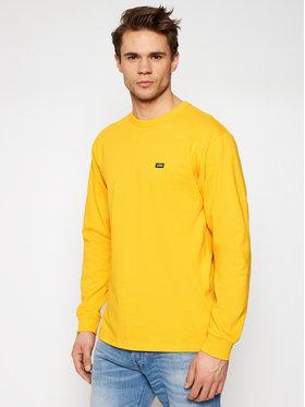 Vans Vans Тениска с дълъг ръкав Off The Wall VN0A4TUR Жълт Classic Fit