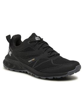 Jack Wolfskin Jack Wolfskin Παπούτσια πεζοπορίας Woodland Vent Low M 4039221 Μαύρο