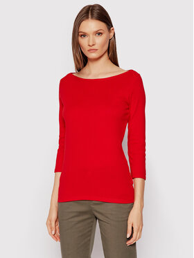 United Colors Of Benetton United Colors Of Benetton Chemisier 3GA2E16A1 Rouge Regular Fit