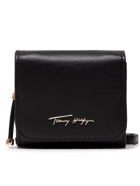 Tommy Hilfiger Tommy Hilfiger Сумка Iconic Tommy Mini Wallet Sign AW0AW10554 Чорний