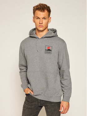 Edwin Edwin Sweatshirt Sunset On Fuji I025851 TG0971P MDF67 Gris Regular Fit