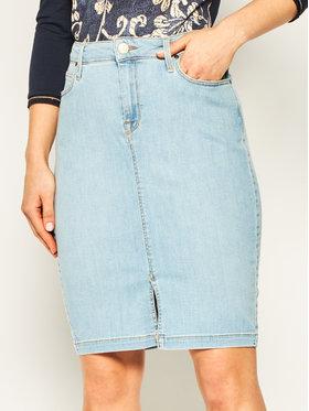 Lee Lee Džínová sukně Pencil L38GMFOC Modrá Slim Fit