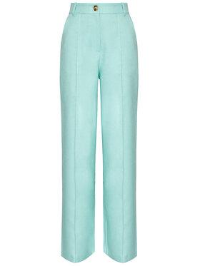 NA-KD NA-KD Spodnie materiałowe Wide 1018-006843-0618-581 Zielony Relaxed Fit
