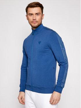 Guess Guess Bluza Arlo U1GA12 K6ZS1 Niebieski Regular Fit