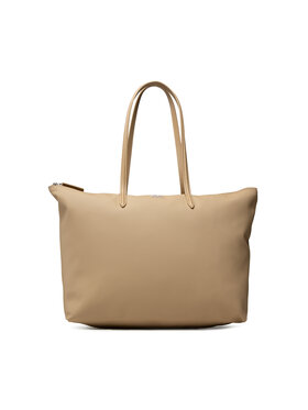 Lacoste Lacoste Torebka L Shopping Bag NF1888PO Beżowy