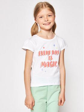 Billieblush Billieblush T-Shirt U15879 Bílá Regular Fit