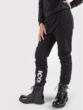 Coccodrillo Coccodrillo Παντελόνι φόρμας ZC1120104EVG Μαύρο Regular Fit