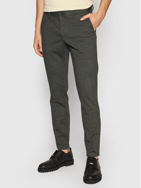 Only & Sons Only & Sons Chinosy Mark 22020392 Zielony Tapered Fit