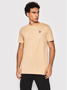 Fila Fila T-shirt Samuru 688977 Beige Regular Fit
